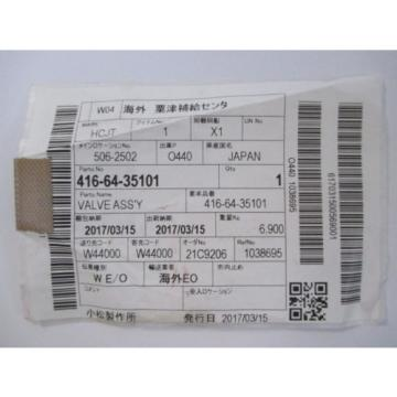 Eaton Industries JAPAN Komatsu Loader Steering Valve Assembly 416-64-35101