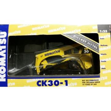 KOMATSU CK30-1 COMPACT TRACKED LOADER 1:25  NIB