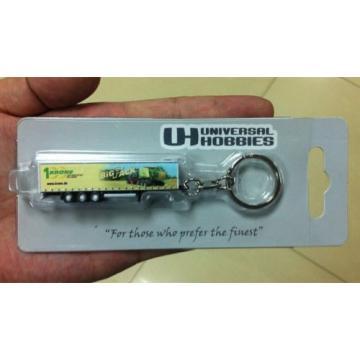 Universal Hobbies Komatsu UH 5531 Krone Big Pack Trailer Key chain Keyring
