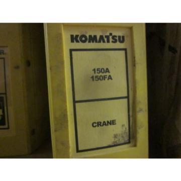 Komatsu 150A 150FA Crane Repair Shop Manual