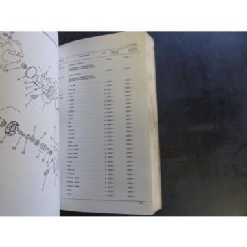 Komatsu PC220-3, PC220LC-3 Hydraulic Excavator Parts Book  PEPB02060300
