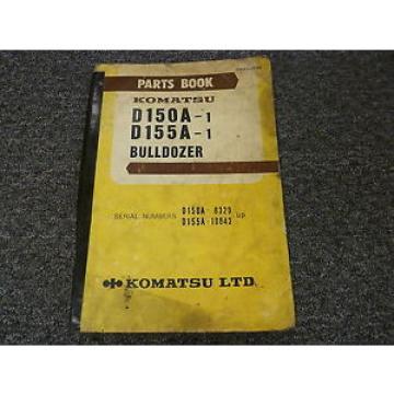 Komatsu D150A-1 D155A-1 Bulldozer Dozer Parts Catalog Manual