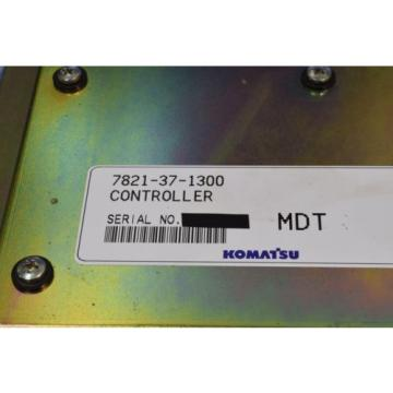 KOMATSU / CONTROLLER / 7821-37-1300 / 7821 37 1300