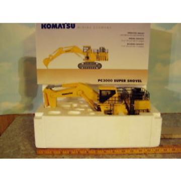 Komatsu PC3000-6 Super Shovel 1/50 NIB First Gear/NZG