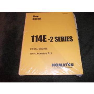 Komatsu 114E 2 series diesel engine shop manual