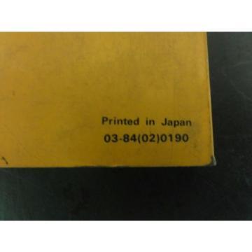 Komatsu 6D105-1 Diesel Engine Parts Book