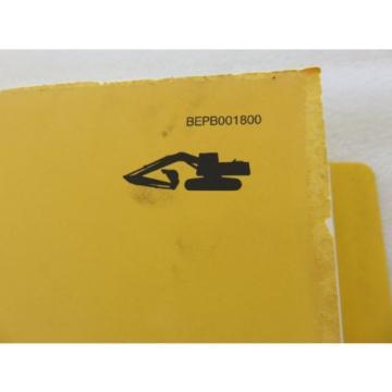Komatsu - PC200 210 220 250 LC-6 - Hydraulic Excavator Parts Manual BEPB001800