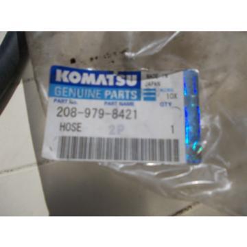KOMATSU  HOSE, PART NO 208-979-8421 Genuine Replacment