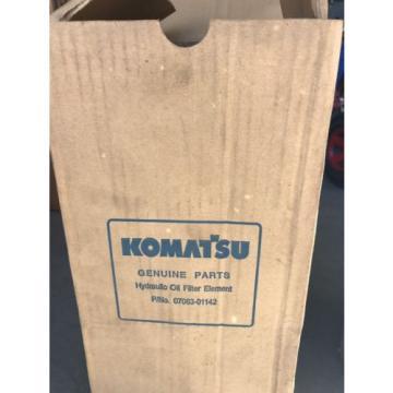 GENUINE KOMATSU HYDRAULIC OIL FILTER ASSEMBLY 07063-01142, 0706301142, P551142