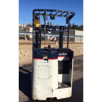 1998 Komatsu 3000lb Electric Reach Mast Forklift