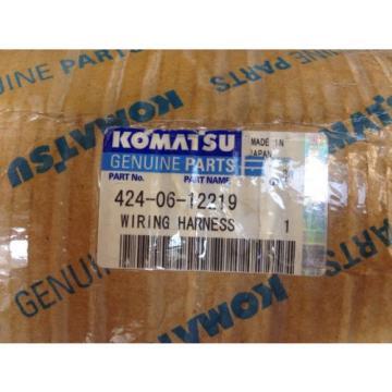 Genuine Komatsu Wiring Harness Pt# 424-06-12219 Applicable To WA700-3