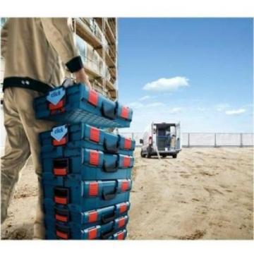 Bosch Small Tool Storage Hard Case Stackable 13 Piece Insert Set Lockable New