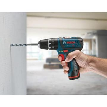 12 Volt Lithium Ion Cordless 3/8 inch Variable Speed Hammer Drill Driver New