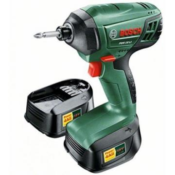 Bosch 0603980371 PDR 18 LI Cordless Lithium-Ion Impact Wrench With Two 18 V -