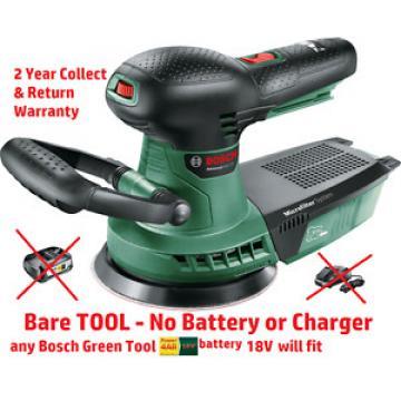 new Bosch Advanced Cordless ORBITAL SANDER 18V BareTool 06033D2100 3165140874618