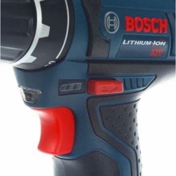 Bosch Li-Ion Drill/Driver Cordless Power Tool Kit 3/8in 12V Keyless PS31-2A