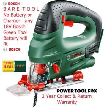 new Bosch PST18Li BARE TOOL LithiumION Cordless Jigsaw 0603011002 3165140577175*