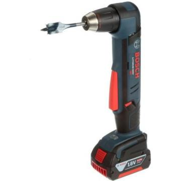 Cordless Right Angle Drill Variable Speed Keyless Chuck 18 Volt Lithium-Ion Kit