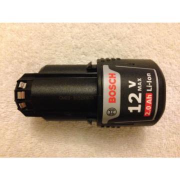 New Bosch BAT414 12V 12 Volt Max Lithium Ion 2.0Ah Battery Li-ion