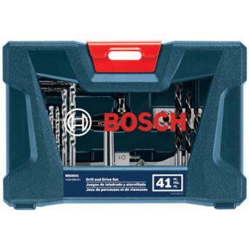 New Bosch 41 Piece Screwdriver Bit Set Torx Security Star Hex Pc Tamper Proof