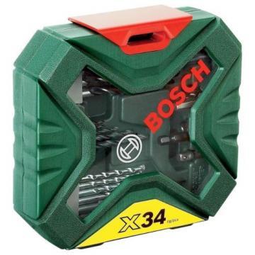 Bosch DIY 34 BIT X Line CLASSIC DRILL Screwdriver Set 2607010608 3165140563147
