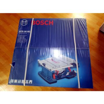 Bosch GTS10XC GTS 10 XC 254MM Table Saw 0601B30400 Include Saw Blade