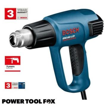2x Bosch GHG 660 LCD Professional HEAT GUNS 240V Corded 0601944742 3165140289443