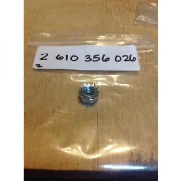 New OEM BOSCH NUT PN: 2610356026