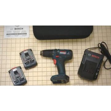 Bosch Cordless Drill Kit 18 Volt Lithium Ion Tough Driver Compact Ddb181 02 Soft
