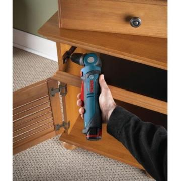 Bosch 12 Volt Lithium-Ion Cordless 3/8 in. Variable Speed Right Angle Drill Tool