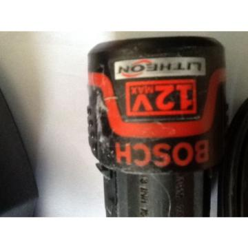 GENUINE BOSCH BAT413A 12V LI-ION BATTERY 1.5Ah HC and charger, NEW