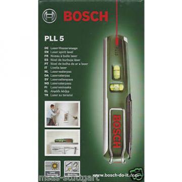 Bosch 16 5/12ft Laser Spirit level PLL 5 Multi Fix - factory new