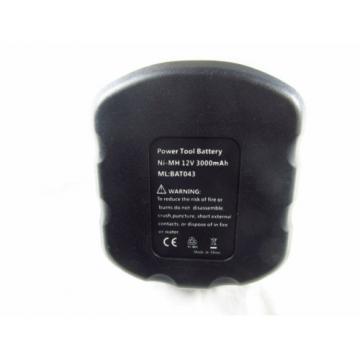 Battery For Bosch 12V A Drill 3.0Ah Ni-MH 2607335741 BAT045 PSR 12 GSR12-2