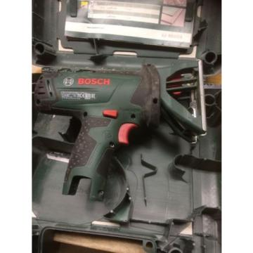 Bosch PST 10.8 Li Bare Unit With Case And Spare Blades. Jigsaw.