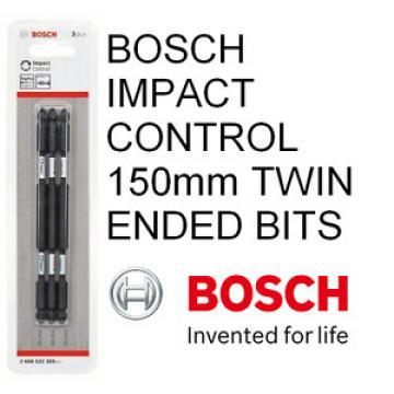 Bosch IMPACT CONTROL PZ 2 x 150MM TWIN ENDED PK 3 IMPACT BITS