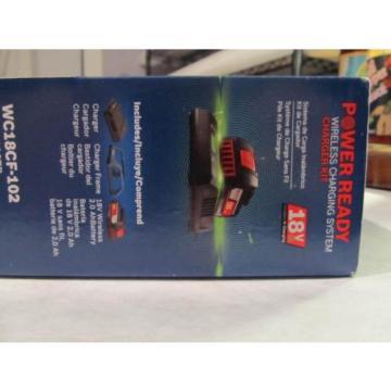 Bosch Tools 18V Wireless Charging Starter Kit w/ BATTERY & Frame WC18CF-102 NEW