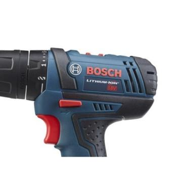 Bosch 18-Volt Lithium Ion 1/2-in Cordless Drill with Extra Battery & Soft Case