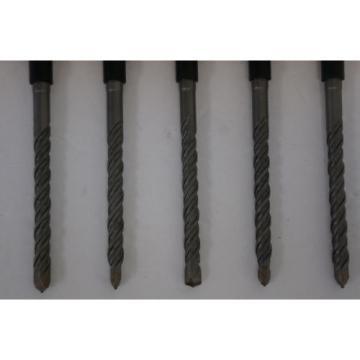 "5 Piece Bosch HC2061 Bulldog 3/8"" x 6"" SDS-plus Carbide Rotary Hammer Drill Bit"