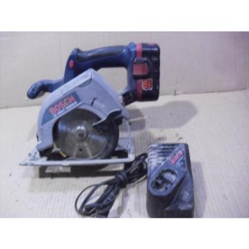 """Bosch 18 Volt 5-3/8"""" Cordless Saw # 1659 With BAT025 Battery & BC003 Charger"""