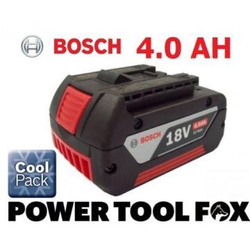 5 x Bosch 18v 4.0ah Li-ION Batteries (COOL PACK) 2607336815 1600Z00038 4BLUE*