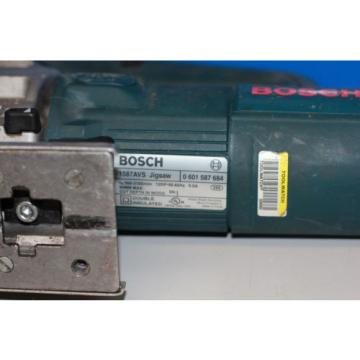 Bosch 1587AVS Variable Speed Jigsaw - Electric Corded -Tested Working Good !