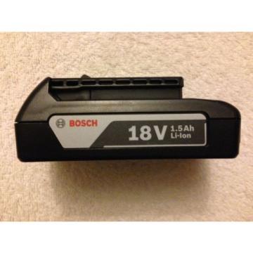 New Bosch BAT611 18V 18 Volt  Lithium Ion 1.5Ah Battery Li-ion