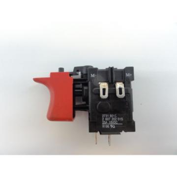 Bosch #2607202015 Genuine OEM Switch for 34618 18V Drill / Driver