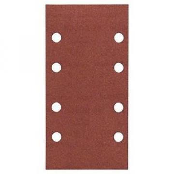 Bosch 2 608 605 308 Carta Abrasiva Forata, Grana 180
