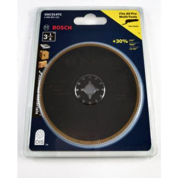 Bosch OSC314TC 3-1/4 Inch Bi-Metal Titanium Circular Saw Blade for Multi-Tool