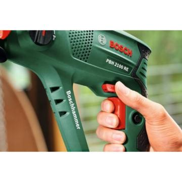 New Bosch 6033A9370 PBH 2100 RE Pneumatic Rotary Hammer with Plastic Case