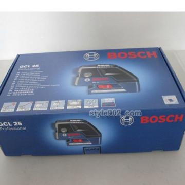 Original BOSCH GCL25 Five-Point Self Leveling Alignment Laser Cross-Line GCL 25