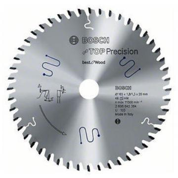 NEW! Bosch Circular Saw Blade Top Precision Multi Purpose 165mm 48T - 2608642388