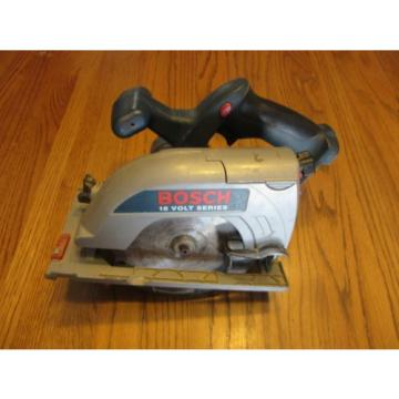 "Bosch 18V 6-1/2"" Cordless Circular Saw WORKS"