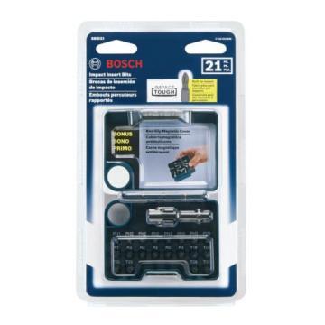 NEW Bosch SBID21 Impact Tough Insert Bit Set  21-Piece